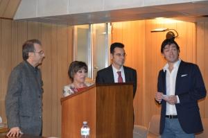 In apertura di giornata, la splendida presentazione da parte della prof.sa Rizzo, del dott. Camassa e del dott. Colombo